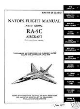 1970's RA-5C A5-A Vigilante Jet RARE historic period manual 700+ pages Vietnam