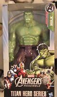 NIB INCREDIBLE HULK Hasbro Marvel Avengers Titan Hero Series Action Figure A4810
