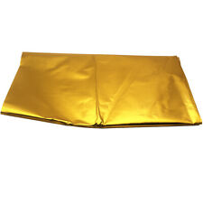 "39""x 47"" SELF ADHESIVE REFLECT A GOLD HEAT WRAP BARRIER FOR THERMAL EXHAUST"