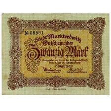Germany 20 Mark 1918 Marktredwitz No08591