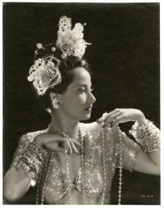 MERLE OBERON 1930s GORGEOUS OVERSIZE DBLWT PHOTOGRAPH TCM OSBORNE ESTATE