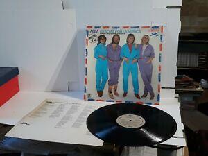 ABBA Gracias por La Musica 12 Inch record