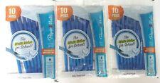 3/Pack - Paper Mate Write Bros Ballpoint Pens, Medium Point, Blue, 30 Pens