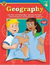 Brighter Child Geography Grade 4 Map Skills with Answer Key New