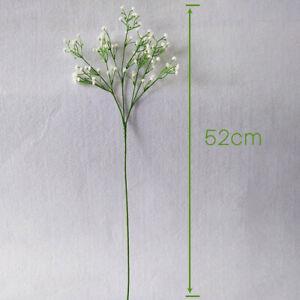 2PCS Artificial Baby Breath Gypsophila Flowers Bouquet Party Bridal HomeDecor#SO