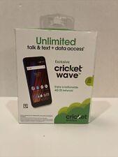 Cricket Wireless Wave Smartphone New Sealed