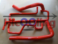 Red silicone heater radiator hose for HOLDEN COMMODORE VP & VQ 3.8 V6 1991-1994
