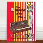 "Mini Moog Model D 1970's Ad Poster Art ~ CANVAS PRINT 24x16"" minimoog"
