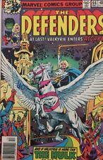 Marvel The Defenders , At Last! Valkyrie Enters Asgard #66 Vol 1 1978