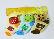 NEW! BABY/ CHILDREN'S CUTE CARTOON SOCKS (SET OF 3 PAIRS)