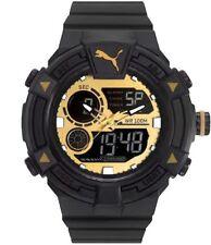 Puma Armbanduhr Herren Digital Kunststoff schwarz 51 mm Uhr PU911391004  WR:100m