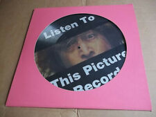 John Lennon – Listen To This Picture Disc (1974) radio interview Picture Disc NM