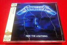 METALLICA - RIDE THE LIGHTNING - JAPAN JEWEL CASE SHM - FACTORY SEALED