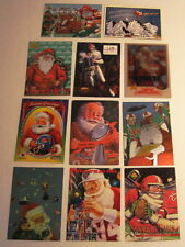 1994 NFL 11-Card Christmas Set Santa Claus Jim Kelly Most Brands FREE SHIPPING!