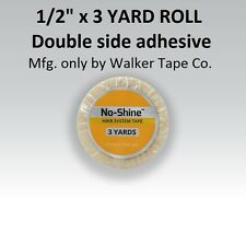 No Shine Lace Support Tape 1/2 in X 3 yardsFull Head Bond NEW LABEL