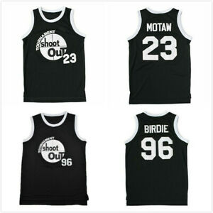 Above The Rim Movie Birdie #96 Motaw #23 Tournament Shoot Out Basketball Jerseys