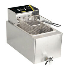 Buffalo GH126 Commercial 6kW Single Tank Countertop Fryer 8Ltr Next Day Delivery