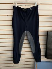 Used Elizabeth G Breeches - 29 - Navy W/ Light Grey