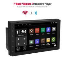 2Din 7'' Car Autoradio Android WIFI Bluetooth Stereo GPS Navigatore FM Radio Mp5