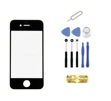 Replacement LCD Front Screen Glass Lens iPhone 4 4s Black CDMA GSM  + Tools