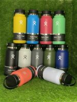 Hydro Flask Wide Mouth Stainless Steel Water Bottle With Flex Cap Model 2