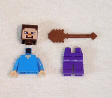 LEGO Steve with Shovel Minifigure Minecraft 21114 The Farm