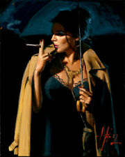 VV1091 Wall decor Fabian Perez oil painting Canvas art Print Unframed 16x20''