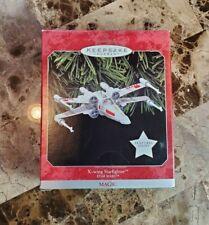 X-Wing Starfighter Magic 1998 STAR WARS Hallmark Keepsake Ornament MIB