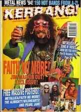 Jim Martin on Kerrang Cover 1994    Metallica     Pearl Jam