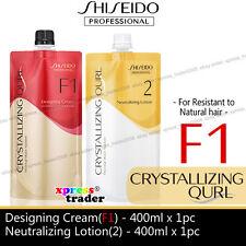 Shiseido Neutralizing & Straightener Perm Set - 400 ml