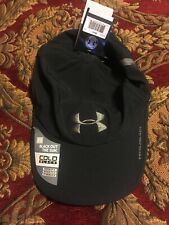 Under Armour Cold Black Black Out The Sun Cap Adjustable UPF 30 OSFM