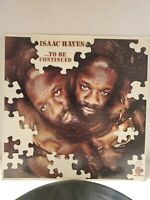 Isaac Hayes ...To Be Continued LP Vinyl 1970 Enterprise VG/VG+