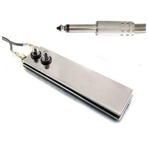 FLAT FOOT PEDAL Ultra Thin Mini Switch Phono Plug for Tattoo Power Supply