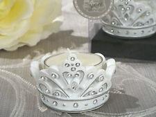 144 Cinderella Fairytale Tiara Crown Candle Quinceanera Birthday Wedding Favor