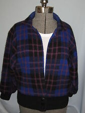 Vintage Alexandra Leigh Sweater Coat Jacket Lined Batwing Size S(5-7) #CL117