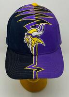 Vintage Minnesota Vikings Starter 90s Darkside Shockwave Slasher Hat Cap