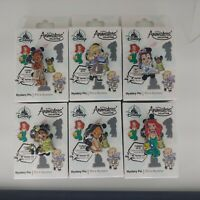 Disney Animators Collection Mystery Pin Series 1 Complete Set BRAND NEW