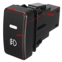 5-Pin Auto Car Push Button Fog Light Switch Control For Honda Civic Accord CRV