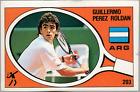 Perez Roldan (Argentina) Tennis! Supersport 1988 Edizioni Panini MINT! n.203!