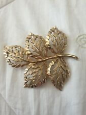 Sarah Coventry Leaf Brooch