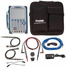 Protek 1020 Handheld Oscilloscope 200mhz 2 Channel 5 7 Tft Lcd Display