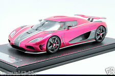 1/18 Frontiart Koenigsegg Agera S Chrome Flash Pink limited 50pcs  / MR , BBR
