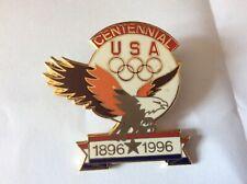 Atlanta Olympic Games 1996 USA ACOG Eagle Centennial Pin