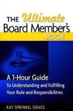 The Ultimate Board Member's Book: A 1-