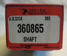 Syn-Tac Precision Rolls 360865 Shaft for A. B. Dick 360 ?
