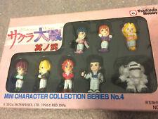 Sakura Wars Mini Character Figure Collection Vol.4 Tsukuda Hobby