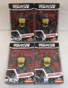 PX Exclusive TMNT Ninja Elite Series 4 Figure Set NEW Playmates Ninja Turtles