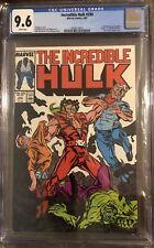 Incredible Hulk #330 - CGC 9.6 White Pages - Todd McFarlane Art Begins