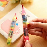 Creative Color Pencil Art Writing Pen For Kids Gift School Stationery Supplies