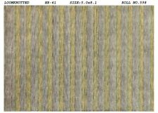 5x8 Country Aesthetic Modern Handmade Purple Gold Clearance Carpet